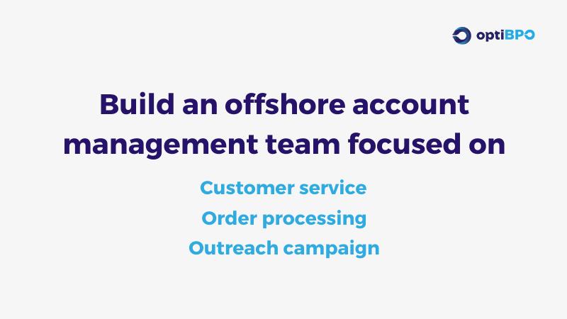 optiBPO Solution - Regenerating Customer Account Management